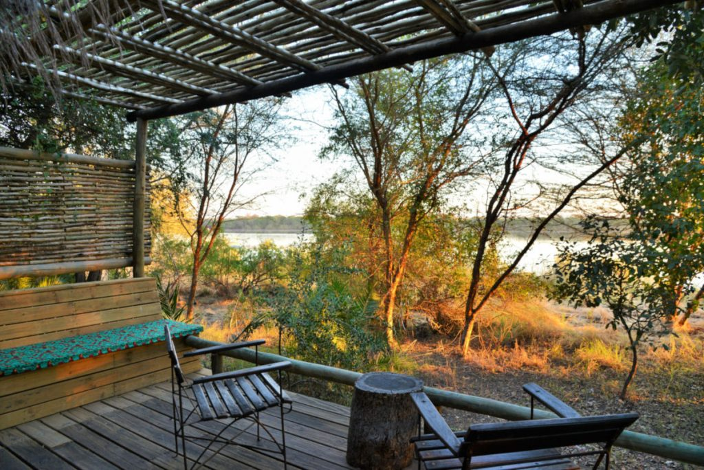 Chobe river view from one of our River View Challet